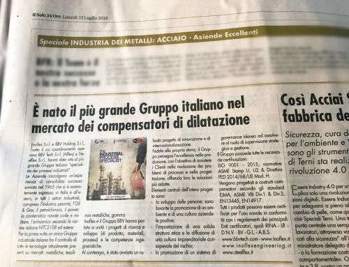 The biggest Italian Group in the expansion joints market is born.