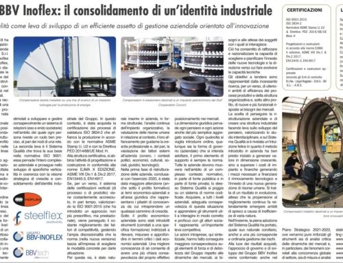 Gruppo BBV Inoflex: il consolidamento di un'identità industriale
